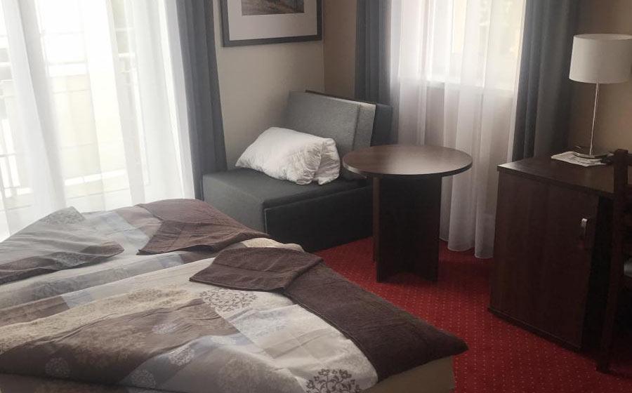 Pokoj exclusiv - hotel Harmonie Třeboň