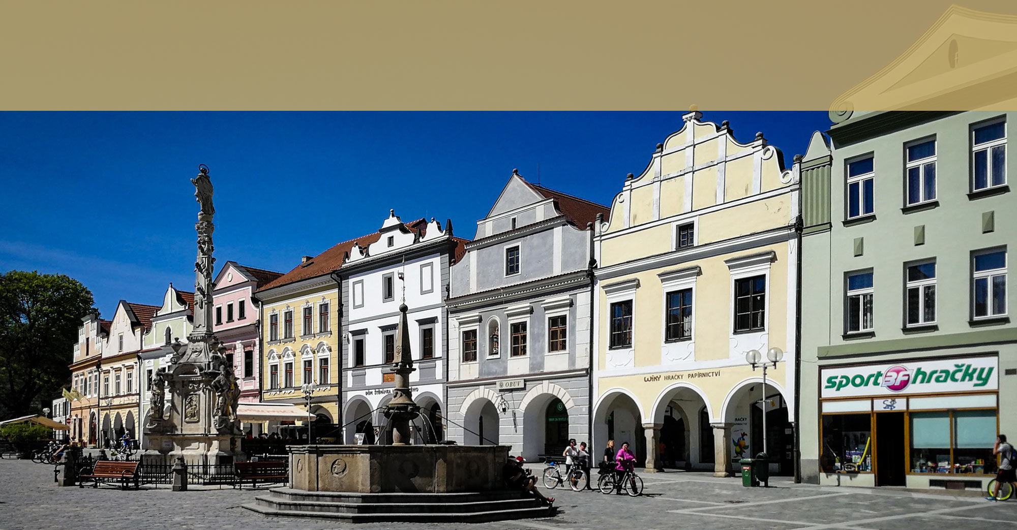 Nááměstí v Třeboni