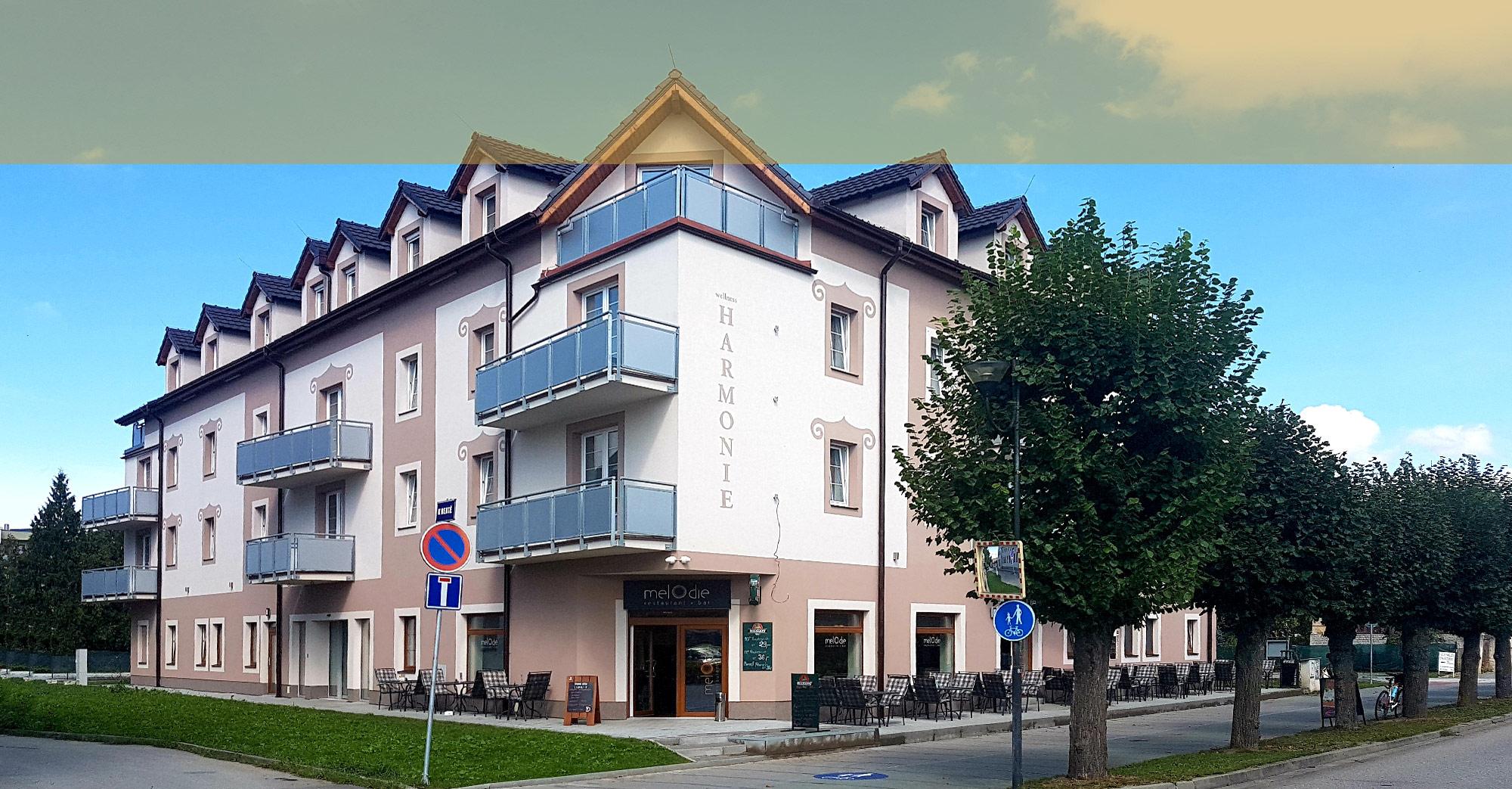 ubytování v hotelu Harmonie Třeboň
